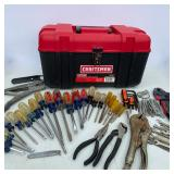 """Craftsman 17"""" Toolbox FULL of Misc Hand Tools"""