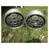 Karmann Ghia wheels