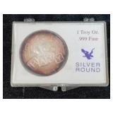 1 Troy Oz .999 Fine SIlver Round