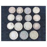 Mercury, Silver Dimes, Buffalo Nickels