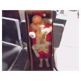 Shiny Brite Santa