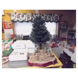 Nativity Tree & Mountain