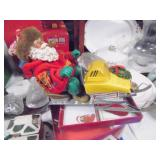 ChristmaSnowmobile Santas Items