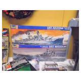 New Revell Battleship Models