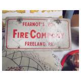 Freeland Fearnots Liscense Plate
