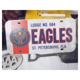 Eagles Lodge License Plate