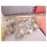 glasses & holder