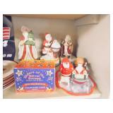 santa music boxes
