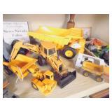 die cast construction vehicles