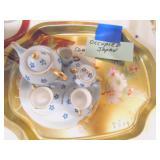 mini tea set occupied japan