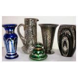 Antique Glass & Silver