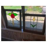 stained glass window sunroom
