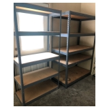 Shelving in garage and basement selling