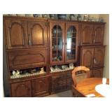 TEAK FURNITURE , AMERICAN OAK  GERMAN WALL CLOSET .... ANTIQUES , JEWELRY, GUNS,......