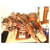 Antique utensils, tools