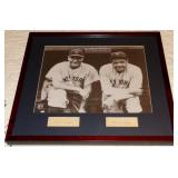 LOU GEHRIG and BABE RUTH AUTOGRAPH CUTS