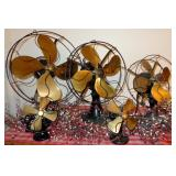 EMERSON BRASS FAN COLLECTION