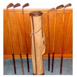 VINTAGE GOLF CLUB SET