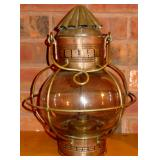 VINTAGE COPPER OIL LAMP