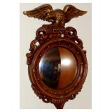 PATRIOTIC WALL MOUNT BUBBLE MIRROR