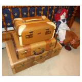 VINTAGE SUIT CASES LUGGAGE