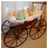 VICTORIAN ERA DOLL BUGGY
