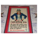 JAMES MONTGOMERY FLAGG UNCLE SAM POSTER