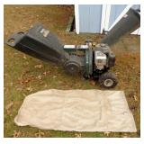 YARD MACHINE GAS POWERED CHIPPER 6.5 HP RAKE IN or DROP IN
