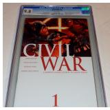 CIVIL WAR # 1 FIRST ISSUE MARVEL COMICS