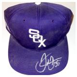 SAMMY SOSA CHICAGO WHITE SOX AUTOGRAPHED  BASEBALL CAP