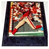 JERRY RICE AUTOGRAPHED PHOTO