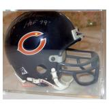 CHICAGO BEARS DICK BUTKUS AUTOGRAPHED MINI FOOTBALL HELMET