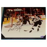 ST. LOUIS BLUES WAYNE GRETZKY # 99 AUTOGRAPHED PHOTO NHL HOF