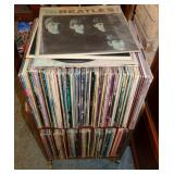 LOTS OF OLD 33 1/3 RPM INYL RECORDS ALBUMS, BEATLES, etc.