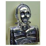 ULTRA RARE SILVER C3PO COLLECTOR CASE