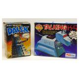 TALKING DALEK & K-9 TOYS ORIGINAL BOX