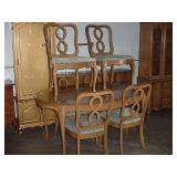 DR table, chairs