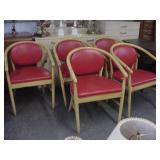 5 mid century chairs
