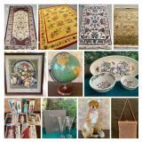 FINE CARPETS, ART AND TREASURES ONLINE AUCTION
