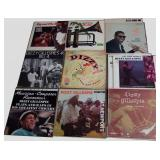 Dizzy Gillespie, 15 albums, 2 pairs of duplicates
