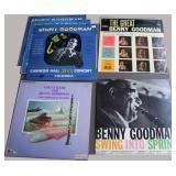 Benny Goodman, 6 albums, 1 duplicate