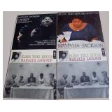 Mahalia Jackson, 4 albums, 1 duplicate
