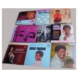 Sarah Vaughan, 29 albums, some duplicates