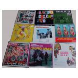 Calypsos, Mambo, Cha-Cha and Bossa-nova, 15 albums, no duplicates