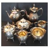 1870s Victorian Silver Plated Tea/Coffee Service