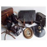 Various Guy items incl German WW2 Ammo Pouch, CW Pouch Etc