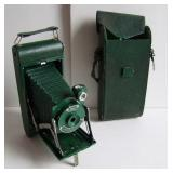 20s All Green Kodak Extension Camera With Case