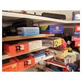 6pm Train Auction - Back Room