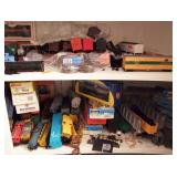 6pm Train Auction - Back Room