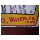 """from Willis MI Store, Oak framed, 41""""w. X 23""""h."""